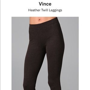 Vince Heather Twill Leggings